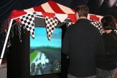 tombola racing écran géant