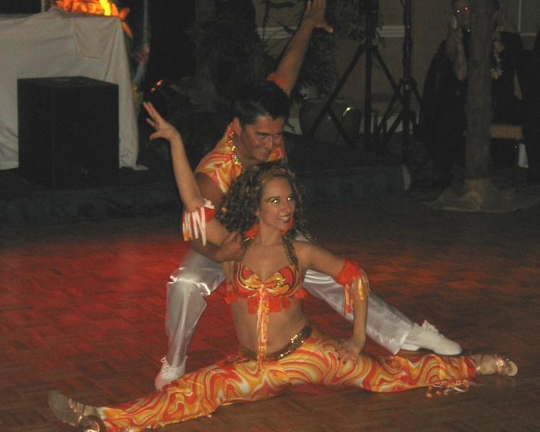 animation danseurs de merengue