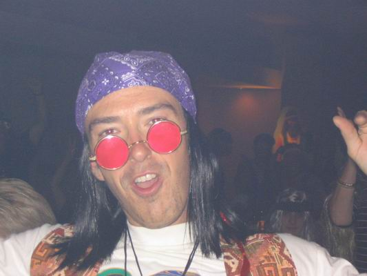 animation personnage hippie